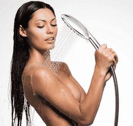Pommeau de douche relaxant