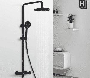 Avis colonne de douche noire Homelody
