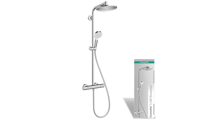 Comparatif pour choisir la meilleure colonne de douche Hansgrohe