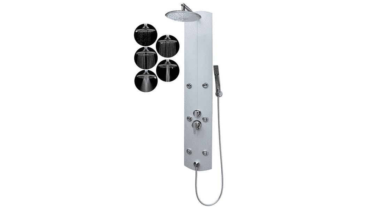 Comparatif pour choisir la meilleure colonne de douche d'angle