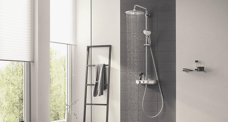 Comparatif pour choisir la meilleure colonne de douche thermostatique Grohe