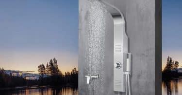 Meilleure Colonne de douche hydromassante thermostatique
