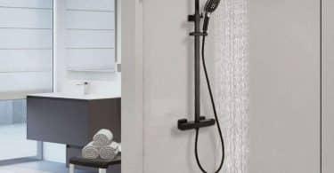 Meilleure colonne de douche avec mitigeur thermostatique