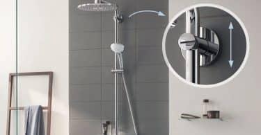 Meilleure colonne de douche grohe