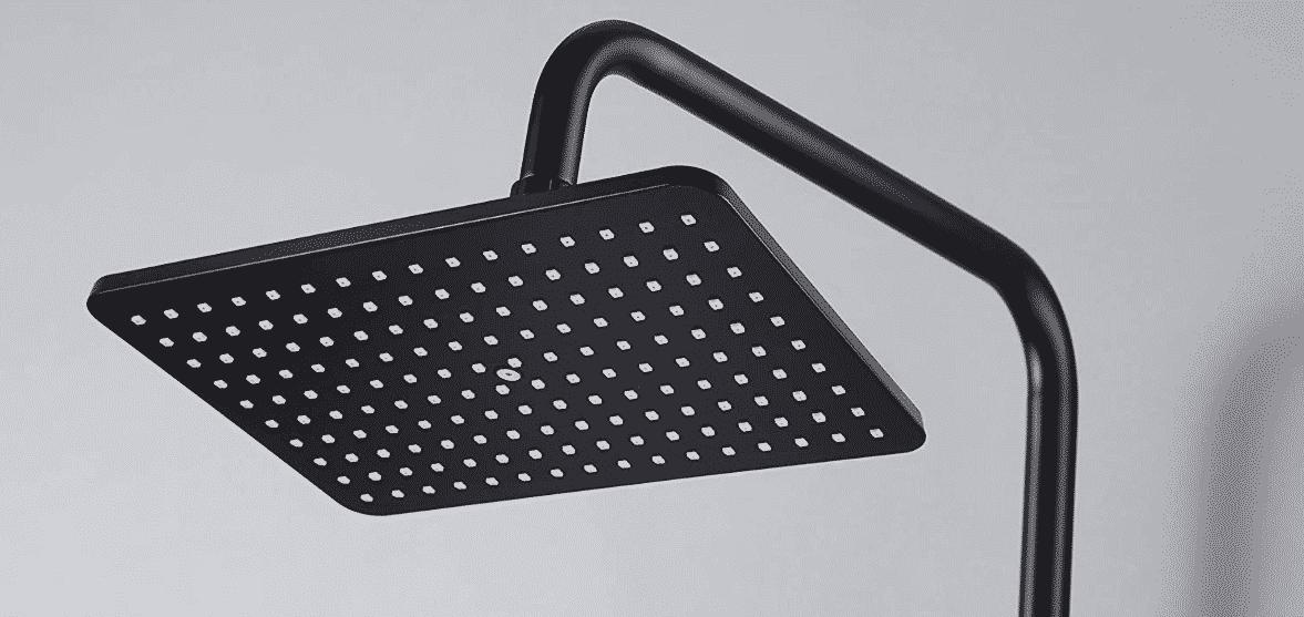 Meilleure colonne de douche noire