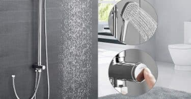 Meilleure colonne de douche sans mitigeur