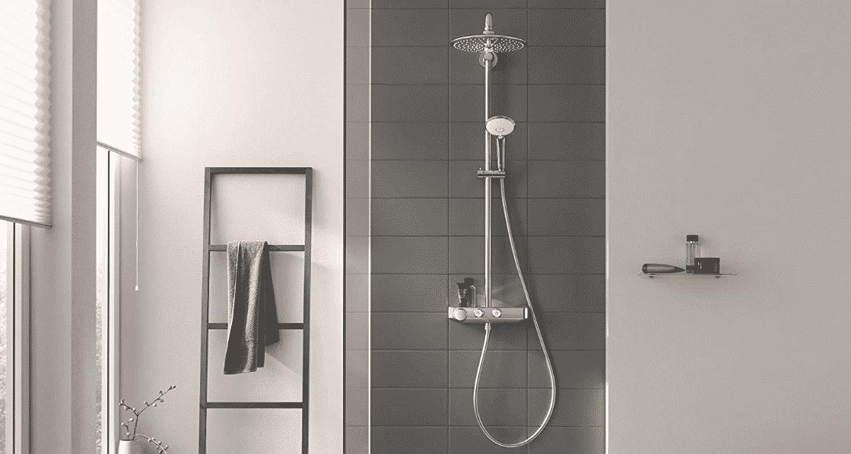 Meilleure colonne de douche thermostatique Grohe